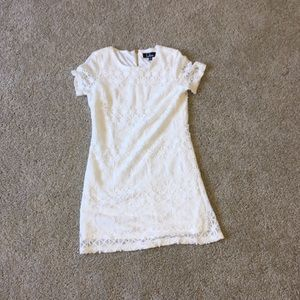 Size XS Lulus White Lace Dress NWOT